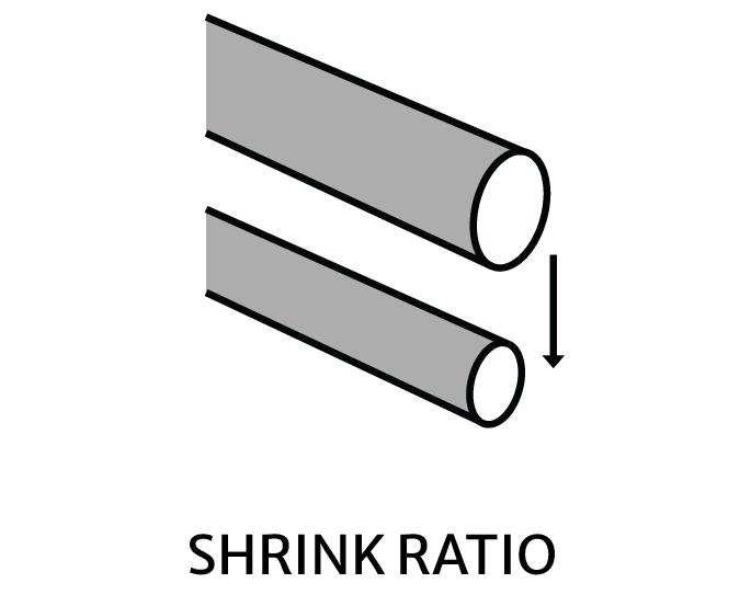 Shrink ratio